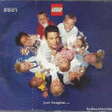 Juguetes antiguos: CATALOGO JUGUETES LEGO 2001. Lote 84400868