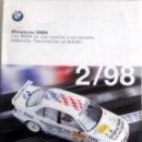 Juguetes antiguos: CATÁLOGO ORIGINAL BMW - MINIATURAS. FEBRERO 1998.. Lote 86657548