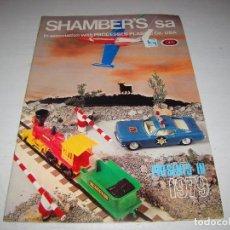 Juguetes antiguos: CATALOGO JUGUETES SHAMBER'S. Lote 87099420
