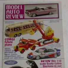 Juguetes antiguos: MODEL AUTO REVIEW Nº123 - JULY-AUGUST 1998. Lote 87410248