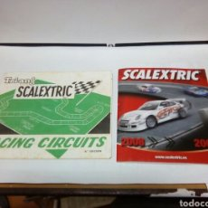 Juguetes antiguos: CATÁLOGOS SCALEXTRIC TRI-ANG. Lote 89499934