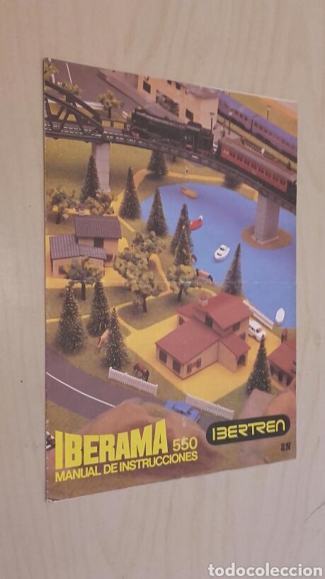 Manual de Instrucciones IBERTREN. IBERAMA 550., usado segunda mano