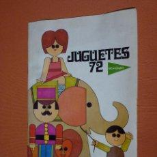 Juguetes antiguos: CATÁLOGO JUGUETES EL CORTE INGLÉS-1972-LEGO,AIRGAM-MADELMAN-NACORAL- EXIN- PAYA-SCALEXTRIC. Lote 90876810