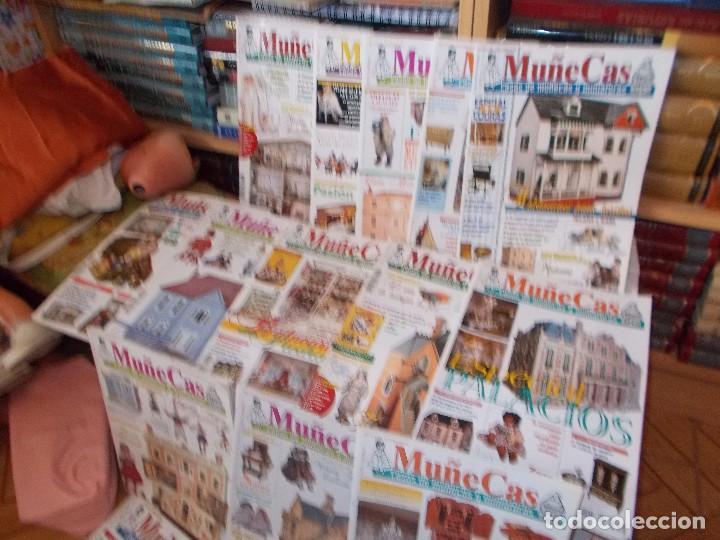 Juguetes antiguos: Gran lote de revistas ,casa de muñecas ,miniaturas , y muñecas de porcelana(ver fotos) - Foto 6 - 90887340