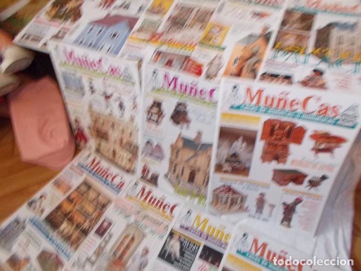 Juguetes antiguos: Gran lote de revistas ,casa de muñecas ,miniaturas , y muñecas de porcelana(ver fotos) - Foto 8 - 90887340