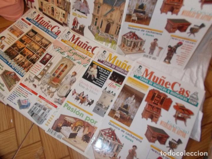 Juguetes antiguos: Gran lote de revistas ,casa de muñecas ,miniaturas , y muñecas de porcelana(ver fotos) - Foto 9 - 90887340