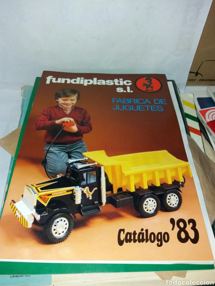 CATALOGO JUGUETES FUNDIPLAST 1983 (Juguetes - Catálogos y Revistas de Juguetes)