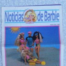 Juguetes antiguos: REVISTA NOTICIAS CLUB DE BARBIE VERANO 1989 ORIGINAL. Lote 91753100