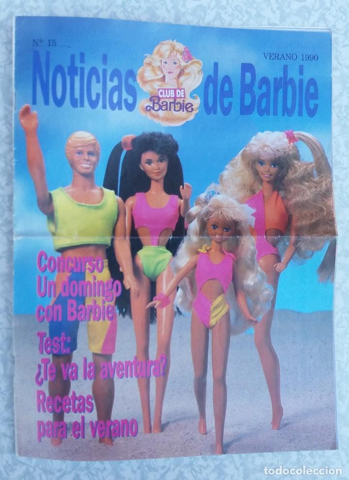 REVISTA NOTICIAS CLUB DE BARBIE VERANO 1990 ORIGINAL (Juguetes - Catálogos y Revistas de Juguetes)