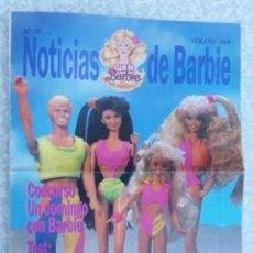 Juguetes antiguos: REVISTA NOTICIAS CLUB DE BARBIE VERANO 1990 ORIGINAL. Lote 91753275