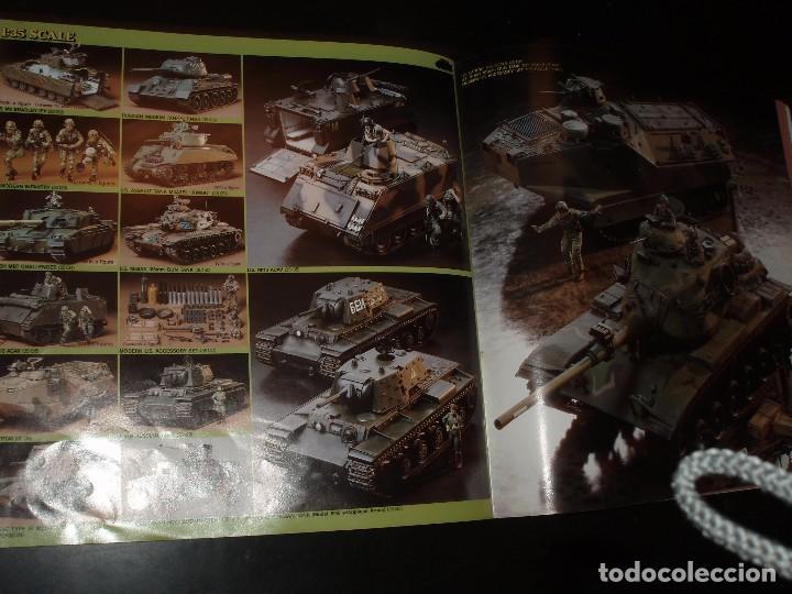 Juguetes antiguos: CATALOGO DE MAQUETAS TAMIYA 1989,MOTOS COCHES. AVIONES. BARCOS,VEHICULOS MILITARES,DIORAMAS - Foto 3 - 92174395