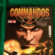 Juguetes antiguos: GUIA OFICIAL COMANDOS 2 - MEN OF COURAGE - MICROMANIA - 29,5 X 23 - 146 PAGINAS. Lote 93647000