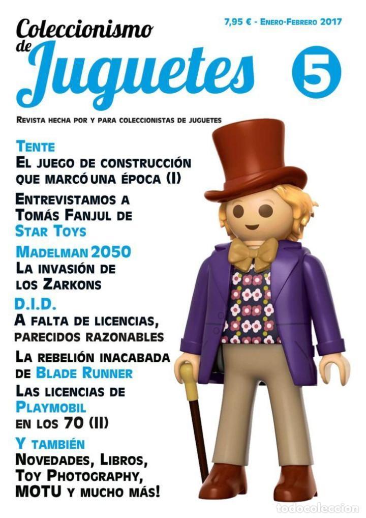 COLECCIONISMO DE JUGUETES NÚMERO 5 – ENERO / FEBRERO 2017 (Juguetes - Catálogos y Revistas de Juguetes)
