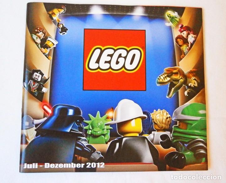 2012 CATALOGO LEGO DICIEMBRE STAR WARS LEGO CITY (Juguetes - Catálogos y Revistas de Juguetes)