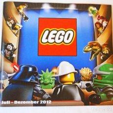 Juguetes antiguos: 2012 CATALOGO LEGO DICIEMBRE STAR WARS LEGO CITY. Lote 94689935