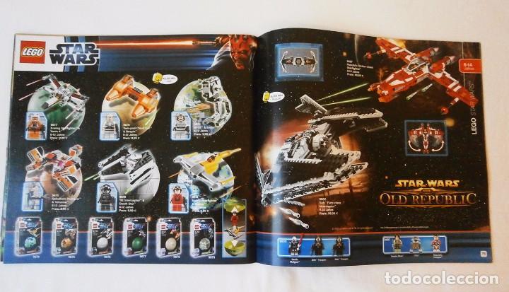 Juguetes antiguos: 2012 Catalogo lego diciembre star wars lego city - Foto 5 - 94689935