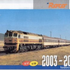Jouets Anciens: CATÁLOGO ROCO 2003-04 SOLDAT HO 1/87 N 1/160 - EN ESPAÑOL. Lote 94943979