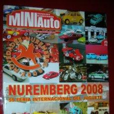 Juguetes antiguos: VENDO LOTE 21 REVISTAS MINIAUTO MAS 7 CD. NUEVAS E IMPECABLES. VER FOTOS.. Lote 95109099