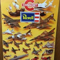 Brinquedos antigos: CATALOGO DE CONGOST - REVELL - AÑO 1979 (AVIONES, BARCOS Y MOTOS). Lote 95589711