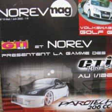 Juguetes antiguos: PPRLY - NOREVMAG Nº 10 MAI / JUIN 2005. FRANCIA (WOLKSWAGEN GOLF GTI - GTI MAG - VER SUMARIO). Lote 95830783