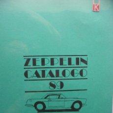 Juguetes antiguos: PPRLY - ZEPPELIN MODELISMO CATALOGO 89. BERSANI AURELIO MILANO ITALIA (VER FOTOGRAFÍAS). Lote 95833759
