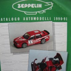 Juguetes antiguos: PPRLY - ZEPPELIN CATALOGO AUTOMODELLI 1990 - 91. BERSANI AURELIO MILANO ITALIA (VER FOTOGRAFÍAS). Lote 95833975