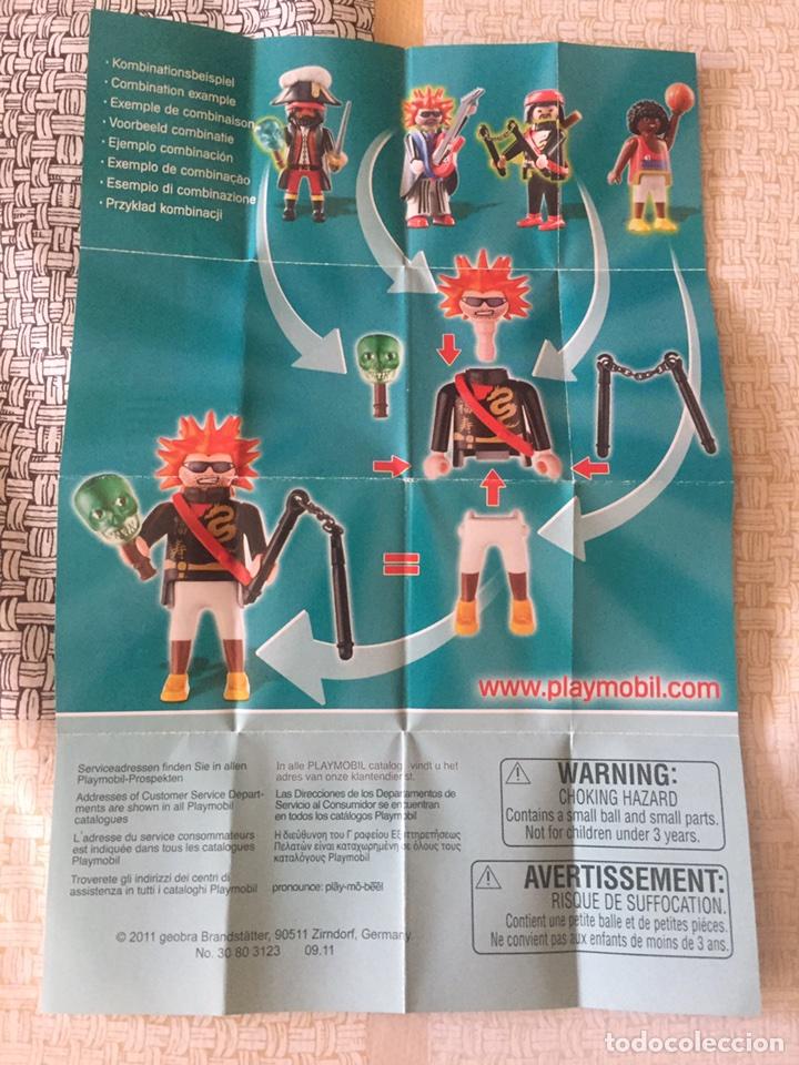 Juguetes antiguos: Catálogo Playmobil figures. Serie 2. 5157. Hoja. 2011 - Foto 2 - 96127915