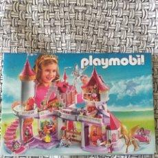 Juguetes antiguos: MINI CATÁLOGO PLAYMOBIL. PRINCESAS. GEOBRA. 2010. Lote 96211592