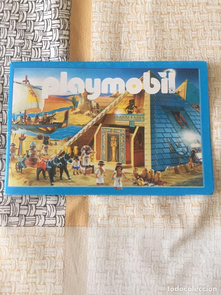 PLAYMOBIL MINI CATÁLOGO. EGIPCIOS. GEOBRA. 2008 (Juguetes - Catálogos y Revistas de Juguetes)