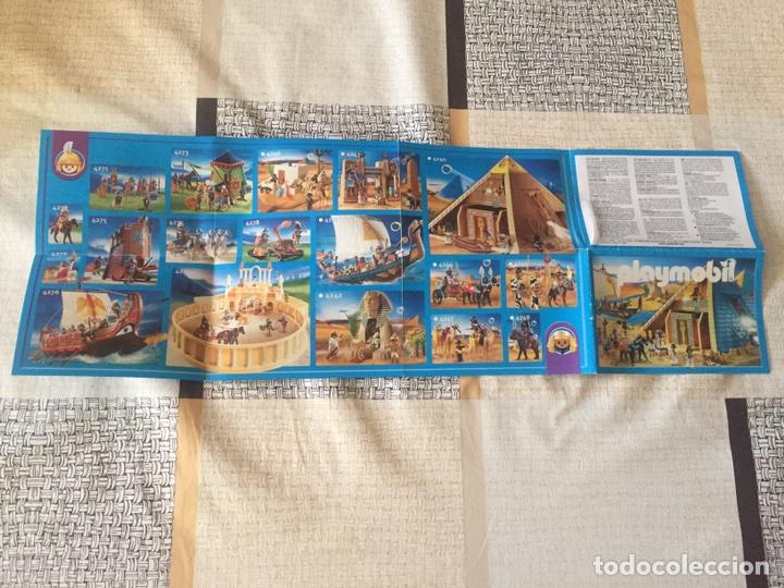 Juguetes antiguos: Playmobil mini catálogo. Egipcios. Geobra. 2008 - Foto 2 - 96211818