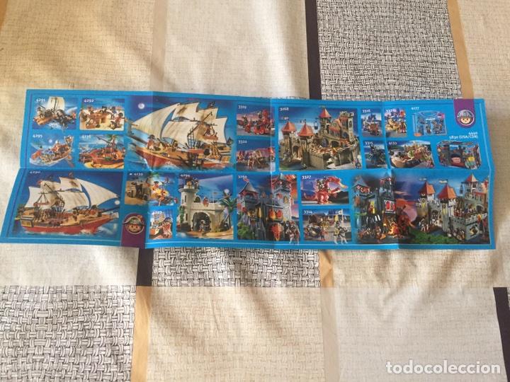 Juguetes antiguos: Playmobil mini catálogo. Egipcios. Geobra. 2008 - Foto 3 - 96211818