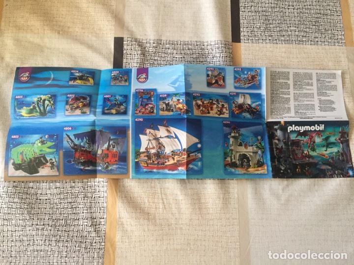 Juguetes antiguos: Playmobil mini catálogo. Fantasía. Geobra. 2009 - Foto 3 - 96212102