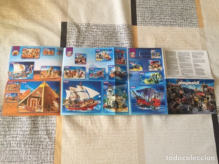 Juguetes antiguos: Playmobil mini catálogo. Medieval. Geobra. 2009 - Foto 3 - 96212291