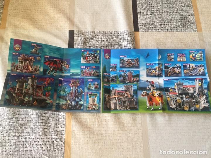 Juguetes antiguos: Playmobil mini catálogo. Medieval. Geobra. 2009 - Foto 4 - 96212291