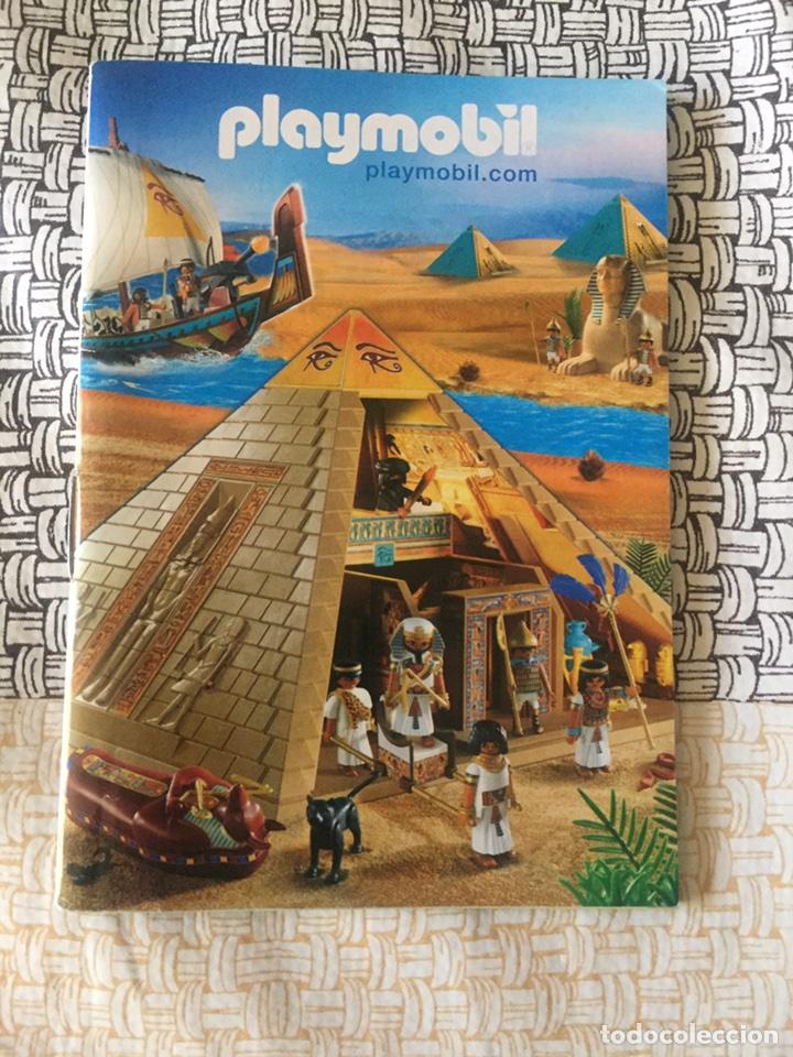 PLAYMOBIL MINI CATÁLOGO. EGIPCIOS. GRAPADO. GEOBRA. 2008 (Juguetes - Catálogos y Revistas de Juguetes)