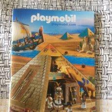 Juguetes antiguos: PLAYMOBIL MINI CATÁLOGO. EGIPCIOS. GRAPADO. GEOBRA. 2008. Lote 96212500
