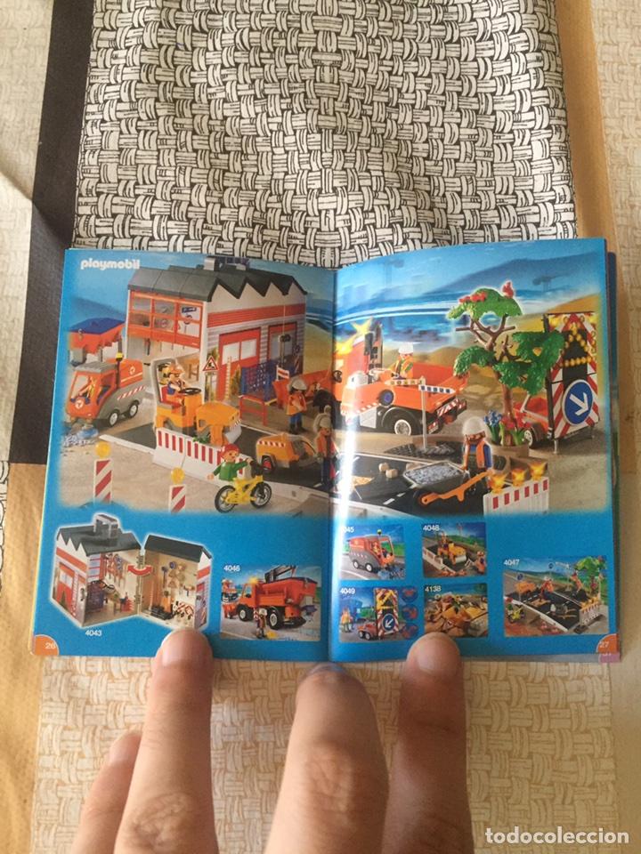 Juguetes antiguos: Playmobil mini catálogo. Egipcios. Grapado. Geobra. 2008 - Foto 3 - 96212500