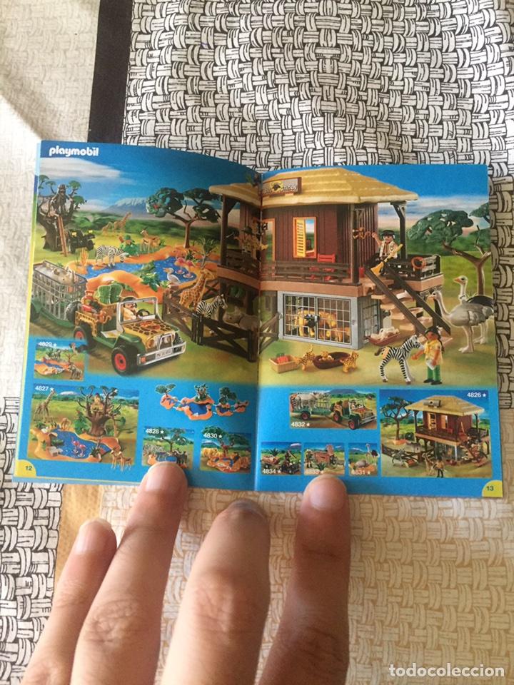 Juguetes antiguos: Playmobil mini catálogo. Medieval. Grapado. Geobra. 2009 - Foto 3 - 96212696