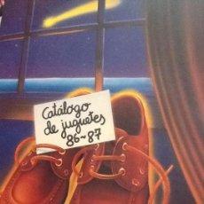 Juguetes antiguos: CATALOGO DE JUGUETES 86-87 EL CORTE INGLES. Lote 107480383