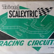 Juguetes antiguos: SCALEXTRIC TRIANG. CIRCUITOS. Lote 96393535