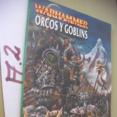Juguetes antiguos: WARHAMMER - ORCOS Y GOBLINS. Lote 96398515