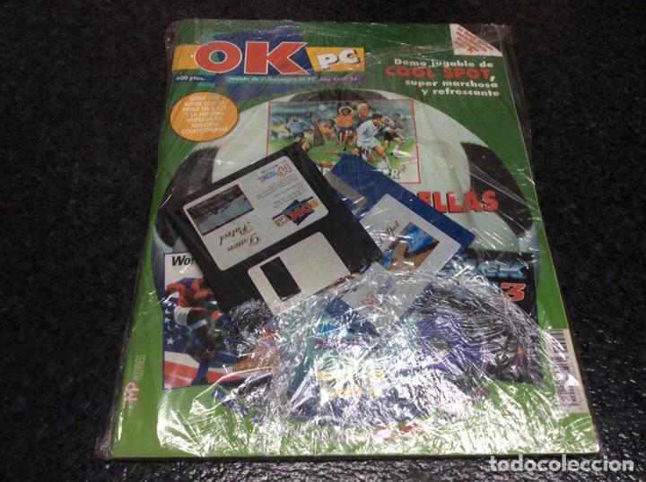 OK PC Nº 24 DEMO JUGABLE - GOOL SPOR , CONTIENE CD ROM (PRECINTADA DE ORIGEN ) (Juguetes - Catálogos y Revistas de Juguetes)