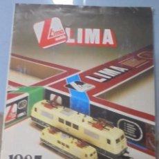 Juguetes antiguos: CATALOGO. JUGUETES. LIMA MODELS. 1985. EDICION FRANCESA. VER FOTOS. Lote 96749791