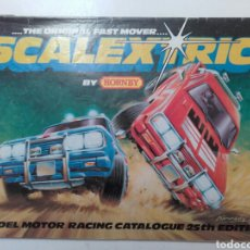 Juguetes antiguos: SCALEXTRIC. HORNBY. MODEL MOTOR RACING. CATALOGO 23 EDICION.. Lote 96837774