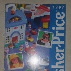 Juguetes antiguos: CATÁLOGO FISHER PRICE 1997 JUGUETES DISTRIBUIDOR (REVISTA JUGUETES ESPAÑA BOOTLEGS). Lote 97047799