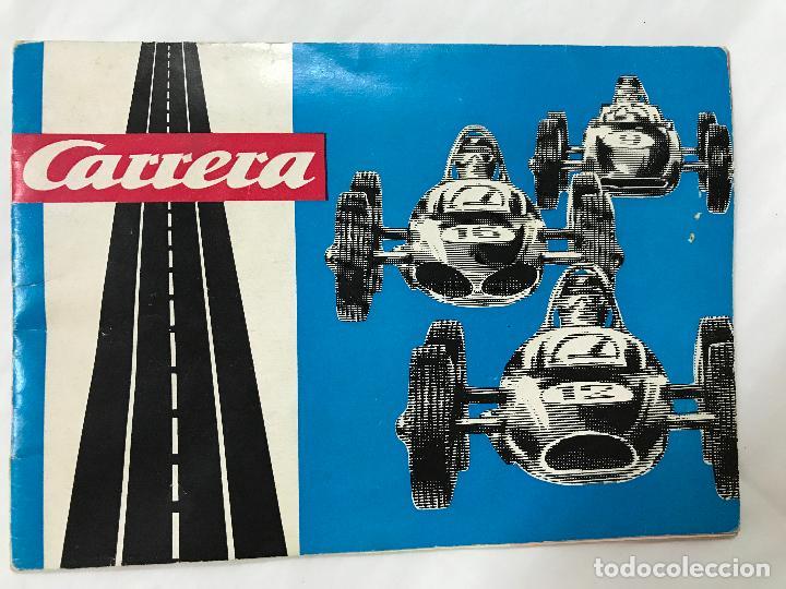 Juguetes antiguos: CARRERA CATALOGO DE 1965, 26 PAGINAS TEXTO EN ALEMAN, TIPO SCALEXTRIC - Foto 2 - 97204331