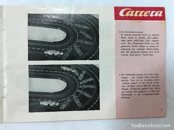 Juguetes antiguos: CARRERA CATALOGO DE 1965, 26 PAGINAS TEXTO EN ALEMAN, TIPO SCALEXTRIC - Foto 6 - 97204331