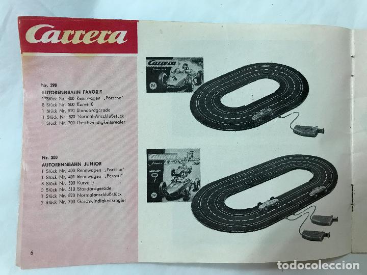 Juguetes antiguos: CARRERA CATALOGO DE 1965, 26 PAGINAS TEXTO EN ALEMAN, TIPO SCALEXTRIC - Foto 7 - 97204331