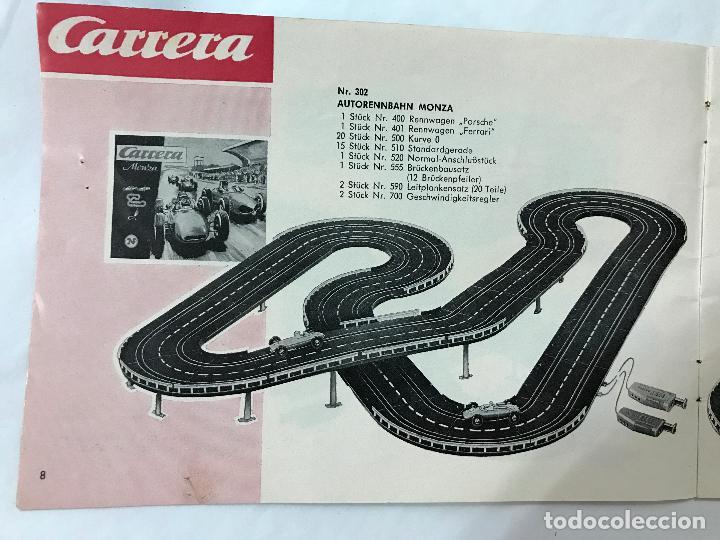 Juguetes antiguos: CARRERA CATALOGO DE 1965, 26 PAGINAS TEXTO EN ALEMAN, TIPO SCALEXTRIC - Foto 9 - 97204331