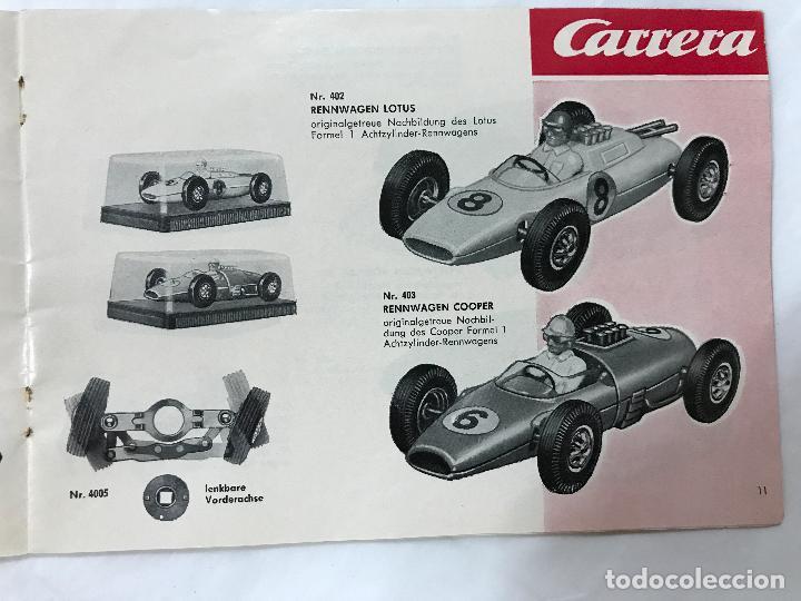 Juguetes antiguos: CARRERA CATALOGO DE 1965, 26 PAGINAS TEXTO EN ALEMAN, TIPO SCALEXTRIC - Foto 12 - 97204331